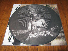 "NUNSLAUGHTER / DR SHRINKER ""Split"" PIC 7""  goatlord dismember"