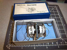 Switch Machine by HO Train Co, Phila Pa, new in box, great vintage collectible