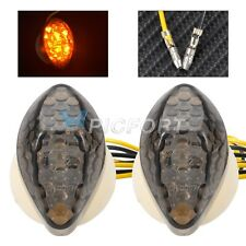 Motocycle Custom Smoke LED Turn Signal Blinker Marker Indicator Light For Honda