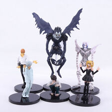 DEATH NOTE - SET 6 FIGURAS PVC 7-20cm / 6 PVC FIGURES SET DEATH NOTE