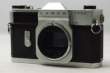 @ Shipped FREE in 24 Hours! @ Canon Canonflex RM Chrome 35mm Film SLR Camera