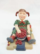 DEPT 56 ALL THROUGH THE HOUSE CAROLINE STRINGING CRANBERRIES 9310-6-A RETIRED