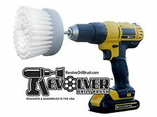 Revolver Drill Brush - Power Scrubbing Drill Attachment - Multi-Purpose Cleaning