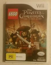 LEGO Pirates of the Caribbean - Pal - Nintendo Wii - VGC - Fast Free Post!