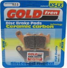 GOLDFREN K5-LX REAR BRAKE PADS YAMAHA XT 660 X SUPERMOTO 2004 - 2014