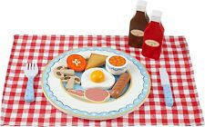 Orange Tree Toys ENGLISH BREAKFAST SET Cooking Kitchen Pretend Play Food BN