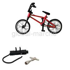 Jouet de Doigt Mini Vélo BMX Educatif Créatif Jeu Cadeaux pour Enfants Rouge