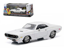 1970 DODGE CHALLENGER R/T WHITE 1/43 DIECAST MODEL BY GREENLIGHT EXCLUSIVE 86301