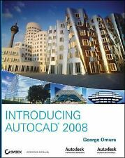 Introducing AutoCAD 2008, Omura, George, Good Condition, Book