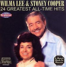 24 Greatest All Time Hits by Wilma Lee & Stoney Cooper (CD, Nov-2006, Gusto...
