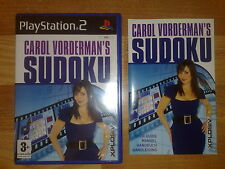 Sudoku pour Sony Playstation 2 (PS2) - Carol Vorderman's Sudoku