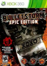 XBOX 360 BulletStorm Epic Edition Video Game Multiplayer Online Shooter Action