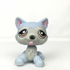 Authentic Littlest Petshop 1046 Husky Dog / Chien Hasbro LPS Pet Shop