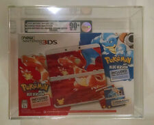 VGA 90+ GOLD! Nintendo New 3DS Pokemon 20th Anniversary Red/Blue Ed. Console