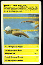 Kornelia Ender, GDR Olympic All Time Greats Top Trumps Card (C257)