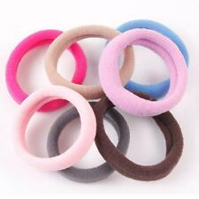 1x/Towel Hair Circle Band Seamless High Elastic Rope Large Headdress Clips