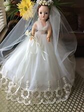 Madame Alexander Cissy BRIDE  in a 1958 Bridal Wreath HTF #2280