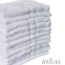 6 NEW 100% COTTON HOTEL BATH TOWELS 20x40 HIGHLAND TEXTILE ROYAL SOFT TOUCH **