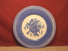 Churchill China England Out of the Blue Pattern Dinner Plate 10 3/4""