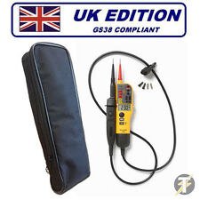 Fluke T130 (T120 Upgraded) Voltage & Continuity Tester PLUS LDMC1 Case!!