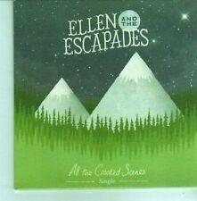 (CX972) Ellen And The Escapades, All The Crooked Scenes - 2012 DJ CD