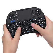 2.4GHz Mini Wireless Keyboard with Touchpad for Panasonic TX-50DX750 Smart TV