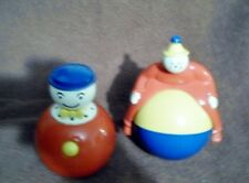 Set of Vintage Pop-up and Roller Toy Very nice condition for age!