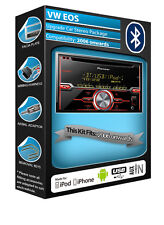 VW EOS CD player, Pioneer car stereo AUX USB in, Bluetooth Handsfree kit