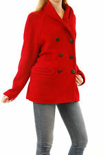 Denham Women's CHICAGO Coat Warm Winter/Fall Wool Red Size S BCF510
