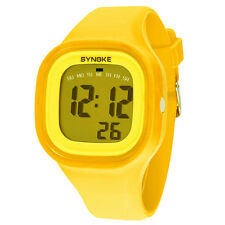 1PC Silicone LED Light Digital Sport Wrist Watch Kid Women Girl Men Boy Stylish