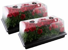 Mondi Set of 2 Germination Seed Starter Trays with Humidity Dome