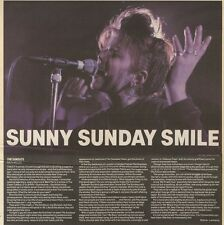 4/2/89Pgn42 Review With Picture: The Sundays Playing Live At The Bath Moles