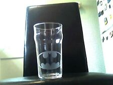 Batman Personalised Etched Engraved Beer Pint Glass