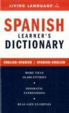 Spanish Learner's Dictionary - English-Spanish / Spanish-English (English and S