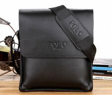 Mens Leather Messenger Shoulder Bag - Brand New - E25