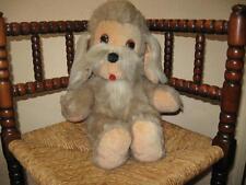 Old Vintage 1970s Germany Plush Dog Felt Tongue 48 CM