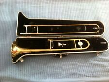Bundy Trombone & Hardshell Case Conn Mouthpiece Nice!