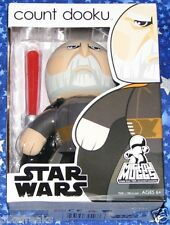 Count Dooku Star Wars The Clone Wars Mighty Muggs Action Figure New MISB USA