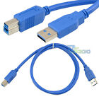 1m 3ft USB 3.0 A Male To B Male Plug Extension High speed premium Cable Cord
