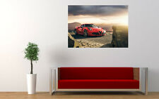 ALFA ROMEO 4C NEW GIANT LARGE ART PRINT POSTER PICTURE WALL