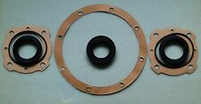 AUSTIN A30,A35, A40 Mk1&2 rear axle seal set (5 seals, 3 gaskets).