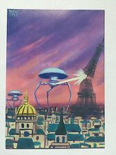 CULT-STUFF WAR OF THE WORLDS Illustrated Magnetic Proof Magno Promo Card /54