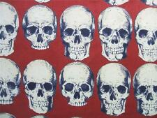 Rad Skull Red Alexander Henry Fabric Yard