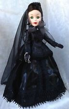 Madame Alexander SCARLETT 21 Portrait Doll Gone with the Wind Mourning dress