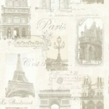 Arthouse Paris Neutral Wallpaper Sepia France Antique Eiffel Tower 692000 NEW