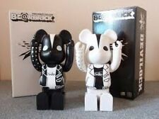 2005 Bearbrick x Warp Devilock 400% White & Black 2 set Be@rbrick Exclusive NOS