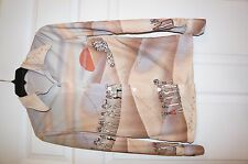 Vintage Egypt Egyptian Sphinx of Giza SHirt Top S XS