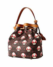$850 Moschino Couture X Jeremy Scott Super Mario Mushroom Nintendo Bucket Bag