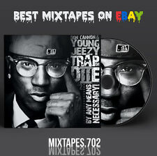 Young Jeezy - Trap or Die 2 By Any Means Mixtape (CD/Front/Back Artwork) Grillz
