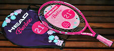 """Head """"BARBIE"""" Girls Jr. Prestrung Tennis Racquets (21"""")   Brand New with Cover"""